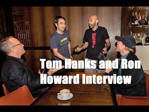 Tom Hanks and Ron Howard Interview - Inferno - BollywoodGandu