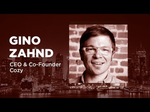 - Startups - Gino Zahnd, CEO & Co-Founder of Cozy