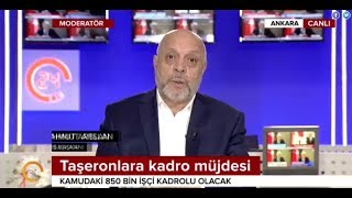 Arslan, 24 TV Canlı yayınında yeni taşeron düzenlemesini değerlendirdi