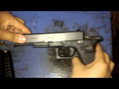 Desarme parcial arma glock 380