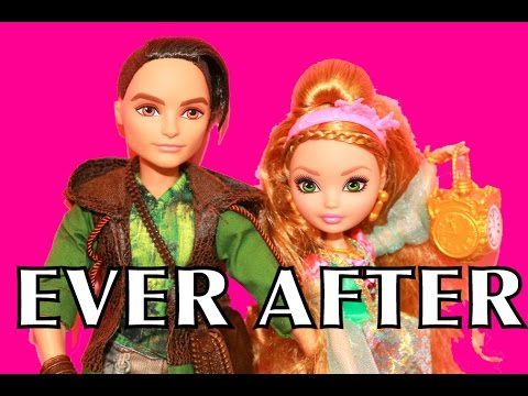 EVER AFTER HIGH DATE Monster High Dolls Toy Review HUNTER