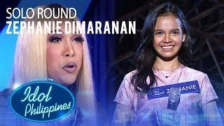 Zephanie Dimaranan - I Believe   Solo Round   Idol Philippines 2019