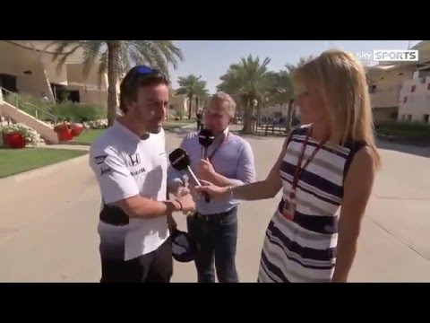 Funny F1 2016 Bahrain GP - Johnny Herbert Defends Fernando Alonso Verdict