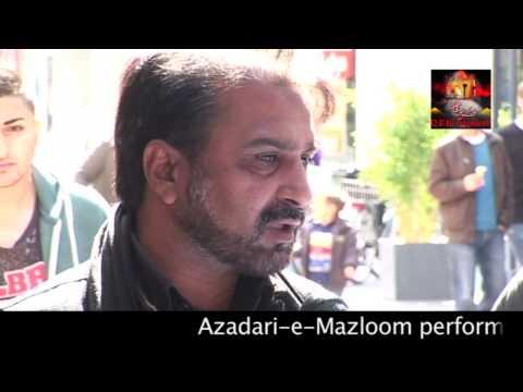 Bonn Jaloos 2014 - Chehlum Mola Ali(swt) - Zakir Sajid Ali Sajid (Italy)