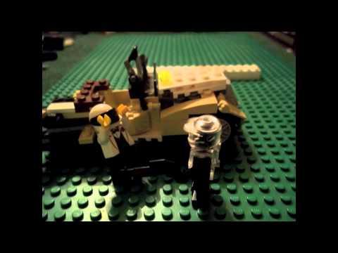 Lego Halo Spartan Chief Vs Helmet man