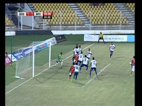 Sporting Clube de Goa vs Bengaluru FC Match Highlights - April 28, 2014 (1-2)