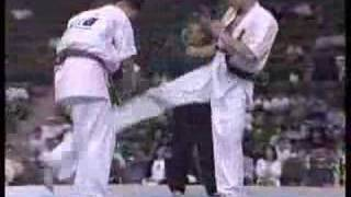 """Kyokushin Karate"" KO (low & middle kick)"
