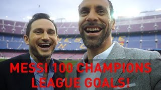 Messi 100 Champions League Goals! | Rio Vlogs