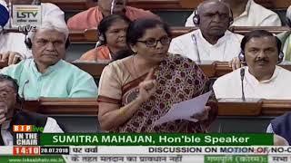 RM Nirmala Sitharaman busts Rahul Gandhi's lies on Rafale deal in Parliament.