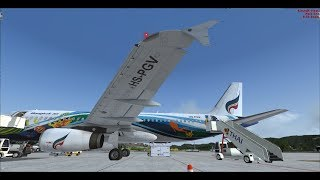 PMDG 737-800 fly VTUD TO VTBS [Full flight] 15 06 2018