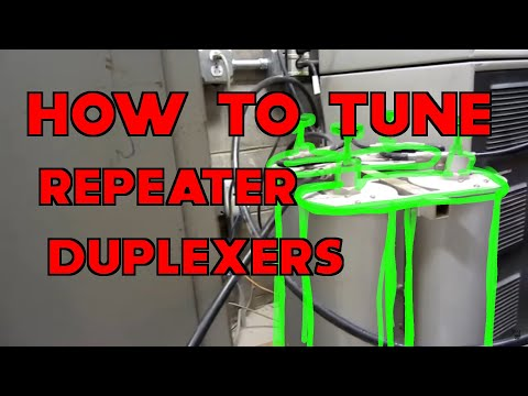 W0EEE: Tuning the 2 meter Repeater Duplexers