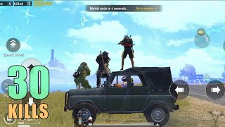 I PLAYED WITH SOUL MEMBER THEN THIS HAPPENED!!! | 30 KILLS | PUBG MOBILE