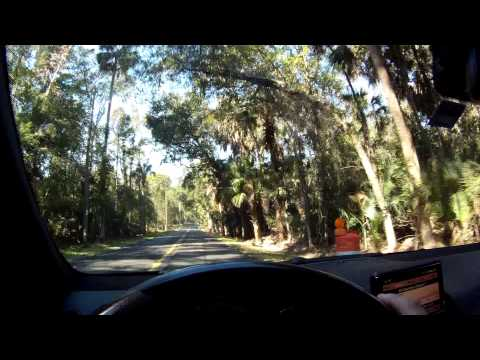 Driving Mercedes-Benz C63 AMG On One Of Central Florida's Most Beautiful Roads