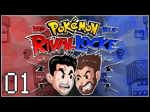 Let's Play Pokémon Red & Blue RivalLocke w/ShadyPenguinn and Nipps
