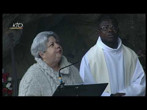 Chapelet à Lourdes du 20 février 2019