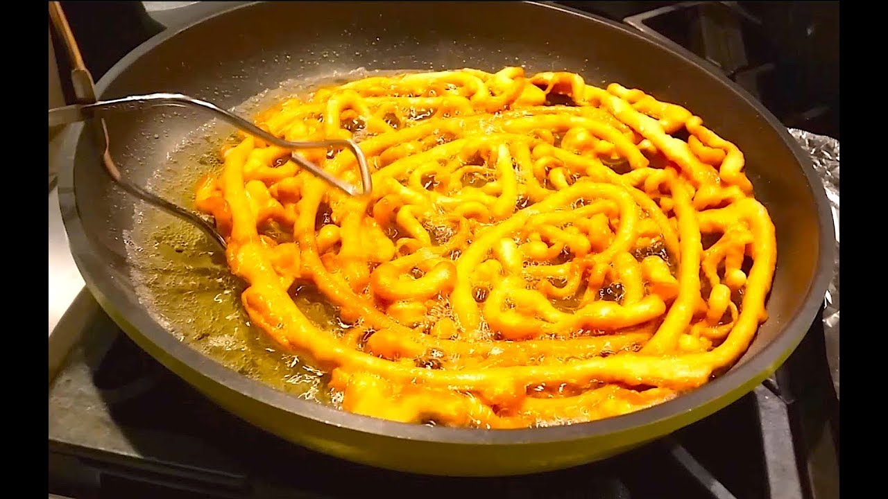 How to make Funnel Cake | Quick and Easy Funnel Cakes Recipe - YouTube