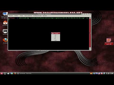 Tutorial sacar clave WPA/WPA2 con diccionarios externos