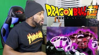Dragon Ball Super - Episode 125 REACTION!!! (TOPPO IS BEASTLY)
