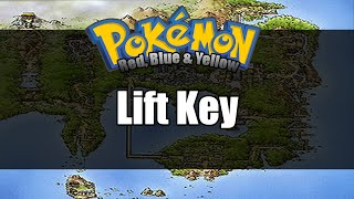Pokemon Red/Blue/Yellow - Where to get Lift Key