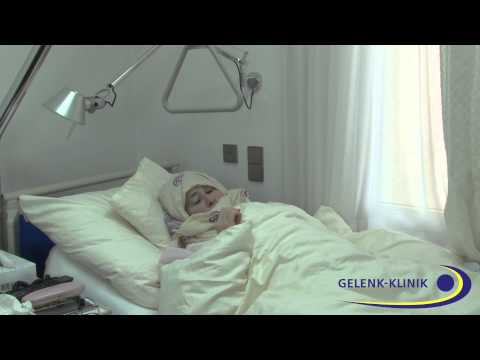 Arab female ortopaedic Patient in Germany talks about hospital service and  staff