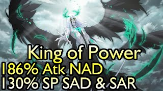 Ulquiorra (3rd Anniversary Hogyoku Version) Review Showcase - 130% SP SAD/SAR & 186% NAD Builds