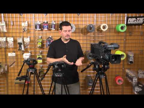 Manfrotto Tripods Video Highlight and Review: MVH502A, 504HD and 509HD Heads