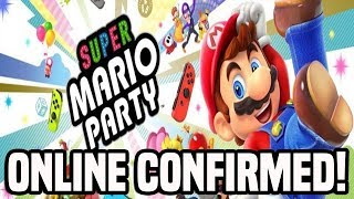 Super Mario Party Online CONFIRMED! Seperate Multiplayer Mode