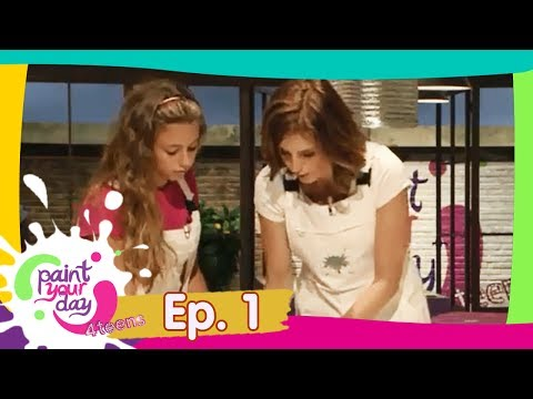 Paint Your Day 4 Teens: Episodio 1 - Frisbee