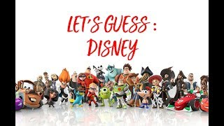 Let's Guess : Disney Movies from the Emoji