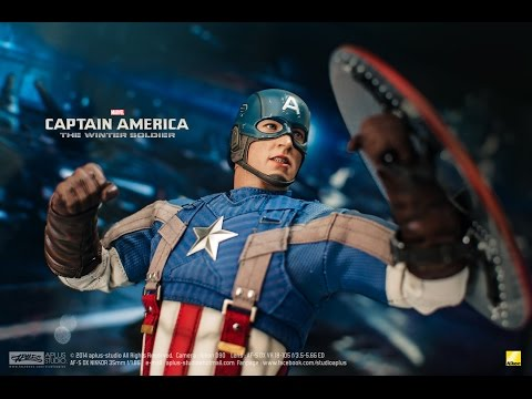 REVIEW : Hottoys Captain America [Golden Age Ver] MMS240