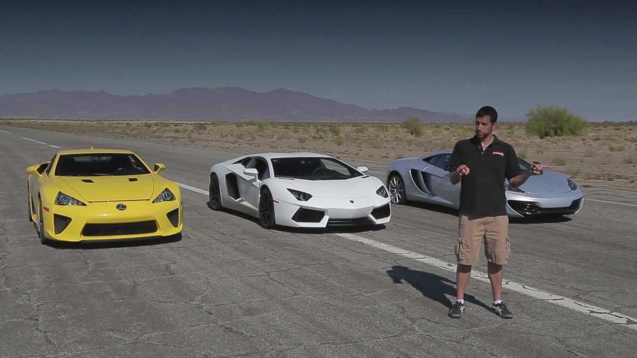 Lamborghini Veneno Vs Bugatti Veyron Race
