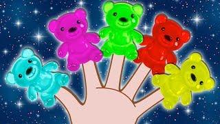 Gummy Bear Finger Family | फिंगर फॅमिली | Nursery Rhymes for Kids