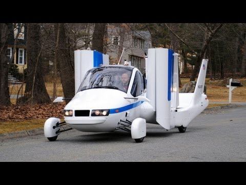 Flying Car - Terrafugia Transition street-legal aircraft