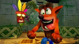 Crash Bandicoot N. Sane Trilogy Press Gameplay