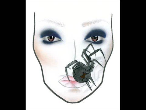 Blank Makeup Face Charts. Mac Halloween Face Charts