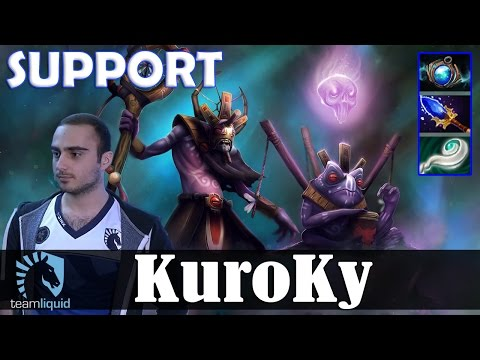KuroKy - Witch Doctor Safelane | SUPPORT | Dota 2 Pro MMR Gameplay #1
