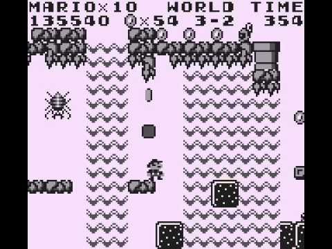 Super Mario Land - Game Boy (1991) - PlayTHROUGH - User video