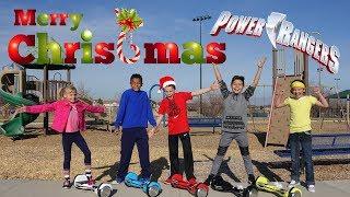 Power Rangers Ninja Kidz Christmas! Ashton Myler