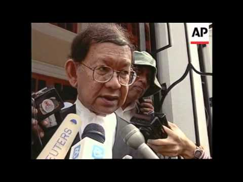 MALAYSIA: ANWAR IBRAHIM TO STAND TRIAL FOR SODOMY