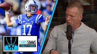 NYG's Daniel Jones getting rave reviews early in practice | Chris Simms Unbuttoned | NBC Sports
