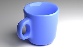 Blender Tutorial: Another Coffee Cup (Easy Handle)