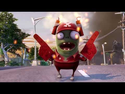 Gamescom 2013 Trailers - Plants vs Zombies Garden Warfare Zombie Gameplay Cinematic Trailer 【HD】