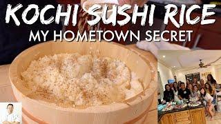Kochi Sushi Rice: My Hometown Secret   Bachelorette Sushi Party