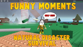 Roblox Funny Moments - Natural Disaster Survival