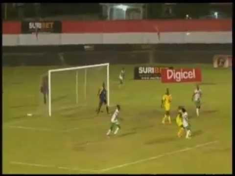 http://www.natiosuriname.com/2015/05/suriname-wint-met-1-0-van-guyana.html Suriname heeft zijn oefeninterland tegen buurland Guyana op 30 april 2015 met 1-0 gewonnen. Het enige doelpunt van...