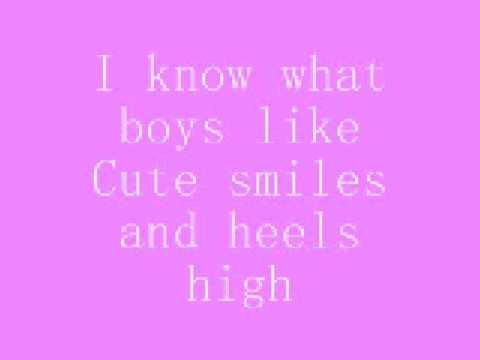 Katharine McPhee - I know what boys like w/ lyrics