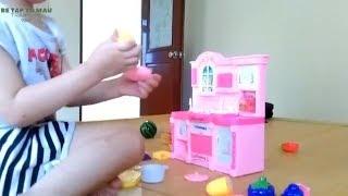 Đồ Chơi Nấu Ăn Mini Cho Bé Gái -   Mở Hộp Quà Trò Chơi Nấu Ăn