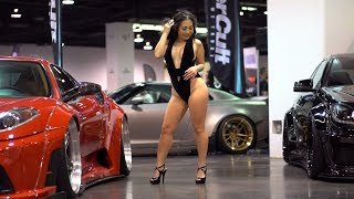 TUNER EVOLUTION 2018 SOCAL - FAMOUS INSTAGRAM MODEL