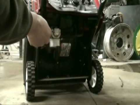Toro CCR Powerlite Snow Blower Repair Quick Fix part #2