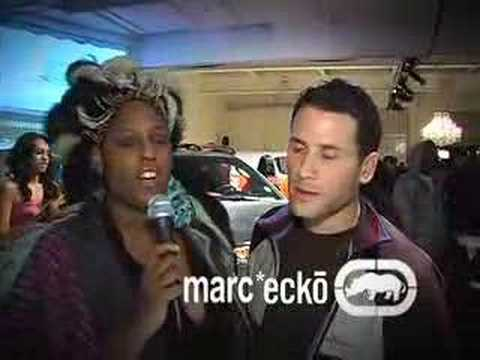 Najwa Moses of Styleaholics.com interviews Marc Ecko Video